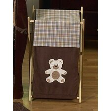 <strong>Sweet Jojo Designs</strong> Teddy Bear Chocolate Laundry Hamper