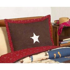 Wild West Cowboy Collection Standard Pillow Sham