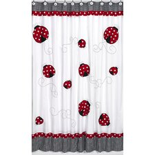 <strong>Sweet Jojo Designs</strong> Little Ladybug Shower Curtain
