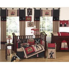<strong>Sweet Jojo Designs</strong> Pirate Treasure Cove Crib Bedding Collection