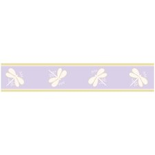 <strong>Sweet Jojo Designs</strong> Dragonfly Dreams Wallpaper Border