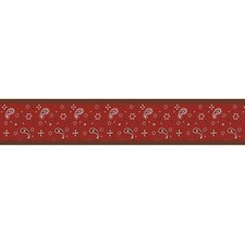 Wild West Cowboy Collection Wall Paper Border  - Bandana Print