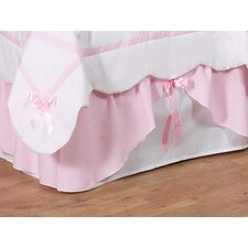 <strong>Sweet Jojo Designs</strong> Ballerina Collection Toddler Bed Skirt