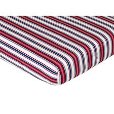 Nautical Nights Fitted Crib Sheet