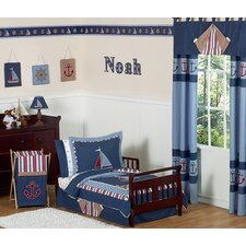 <strong>Sweet Jojo Designs</strong> Nautical Nights 5 Piece Toddler Bedding Collection