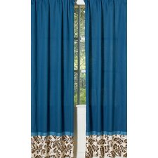 Surf Blue Curtain Panel (Set of 2)