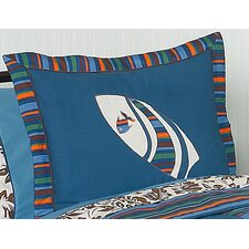 Surf Blue Collection Standard Pillow Sham