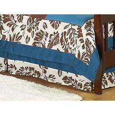 Surf Blue Collection Toddler Bed Skirt