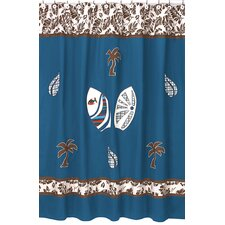 <strong>Sweet Jojo Designs</strong> Surf Cotton Shower Curtain