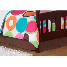 Deco Dot Toddler Bed Skirt
