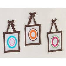 Deco Dot Collection Wall Hanging Set (Set of 3)