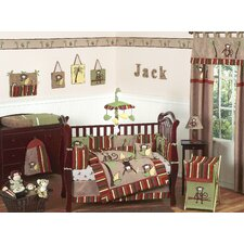 Monkey Time Crib Bedding Collection
