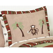 <strong>Sweet Jojo Designs</strong> Monkey Standard Pillow Sham