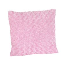 Olivia Decorative Pillow with Minky Swirl
