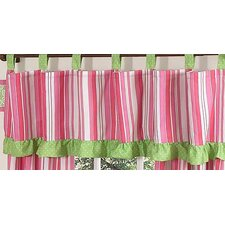 Olivia Tab Top Tailored Curtain Valance