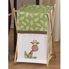 <strong>Sweet Jojo Designs</strong> Jungle Time Laundry Hamper