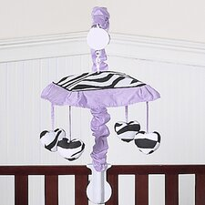 <strong>Sweet Jojo Designs</strong> Zebra Purple Collection Musical Mobile