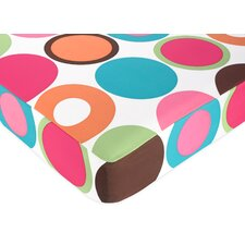 Deco Dot Fitted Crib Sheet