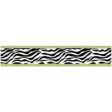 <strong>Sweet Jojo Designs</strong> Zebra Wallpaper Border