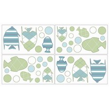 Go Fish Wall Decal 4 piece set