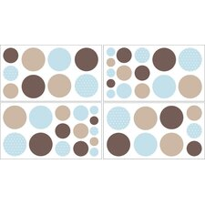 <strong>Sweet Jojo Designs</strong> Mod Dots Wall Decal