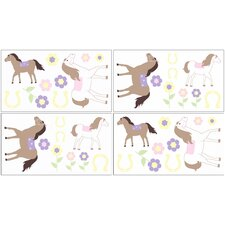 Pony Collection Wall Decal Stickers