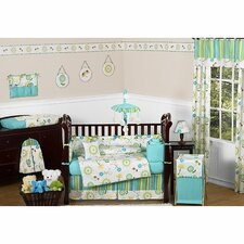 Layla 9 Piece Crib Bedding Set