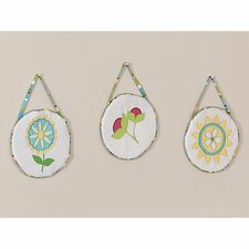 <strong>Sweet Jojo Designs</strong> Layla Collection Wall Hangings 3 Piece Set