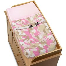 <strong>Sweet Jojo Designs</strong> Camo Pink Collection Changing Pad Cover