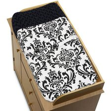 <strong>Sweet Jojo Designs</strong> Isabella Black and White Collection Changing Pad Cover