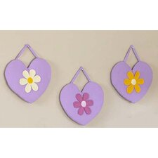 <strong>Sweet Jojo Designs</strong> Daisies Collection Wall Hangings