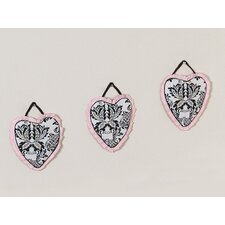 <strong>Sweet Jojo Designs</strong> Sophia Collection Wall Hangings (Set of 3)