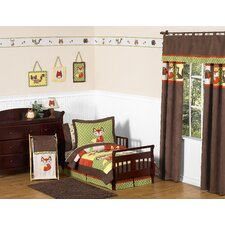 Forest Friends Collection 5pc Toddler Bedding Set