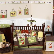 Forest Friends 9 Piece Crib Bedding Collection