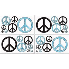 <strong>Sweet Jojo Designs</strong> Peace Wall Decal
