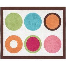 Deco Dot Collection Floor Rug