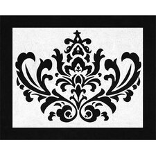 <strong>Sweet Jojo Designs</strong> Isabella Hot Pink, Black and White Collection Floor Rug