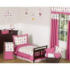 <strong>Sweet Jojo Designs</strong> Happy Owl Collection 5pc Toddler Bedding Set