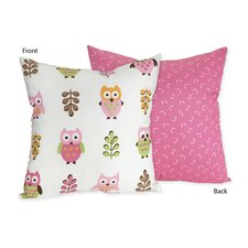 <strong>Sweet Jojo Designs</strong> Happy Owl Decorative Pillow
