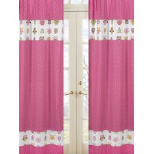 <strong>Sweet Jojo Designs</strong> Happy Owl Window Treatment Collection