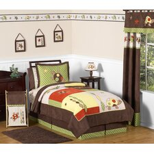 Turtle 4 Piece Twin Bedding Set