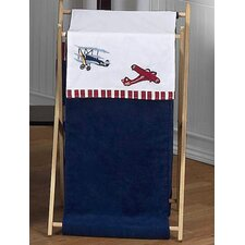 <strong>Sweet Jojo Designs</strong> Vintage Aviator Laundry Hamper