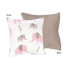 <strong>Sweet Jojo Designs</strong> Elephant Decorative Pillow