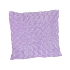 Kaylee Decorative Pillow with Minky Swirl