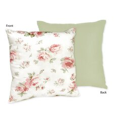 <strong>Sweet Jojo Designs</strong> Riley's Roses Decorative Pillow