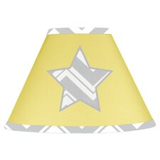 Zig Zag Yellow and Gray Collection Lamp Shade