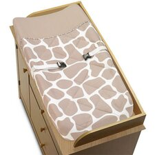 Giraffe Collection Changing Pad Cover
