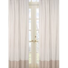 <strong>Sweet Jojo Designs</strong> Lamb Cotton Rod Pocket Curtain Panel (Set of 2)