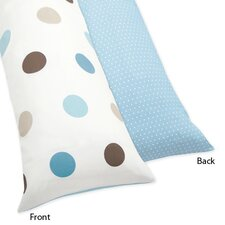 Mod Dots Body Pillow Case