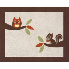 Forest Friends Collection Floor Rug